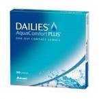 DAILIES AquaComfort Plus 90pck עדשות מגע יומיות