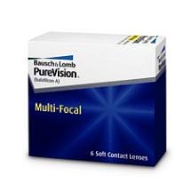 Purevision Multifocal 6pck עדשות מגע מולטיפוקל חודשיות
