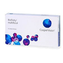 Biofinity Multifocal 6pck  עדשות מגע מולטיפוקל חודשיות