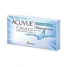 Acuvue Oasys For Astigmatism 6pck עדשות מגע צילינדר דו שבועיות