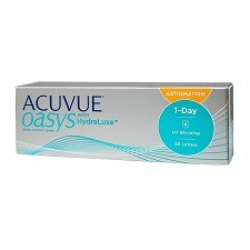 Acuvue Oasys 1 Day for Astigmatism עסקה שנתית