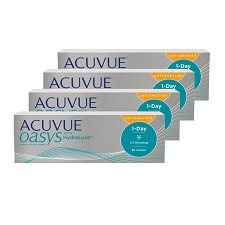 Acuvue Oasys 1 Day for Astigmatism 120pck עדשות צילינדר יומיות