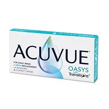 acuvue oasys with transitions 6pck עדשות מגע דו שבועיות