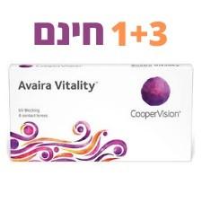 Avaira Vitality 6pck עדשות דו-שבועיות