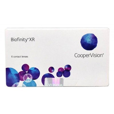 עדשות מגע חודשיות Biofinity XR 3pck