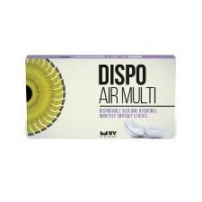 DISPO Air Multi 6pck עדשות מגע מולטיפוקל