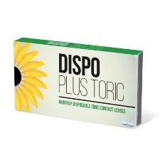 Dispo Plus Toric 6pck עדשות מגע צילינדר חודשיות