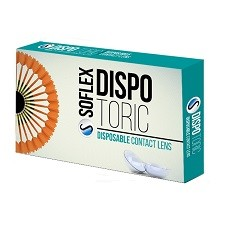 DISPO Toric 6pck עדשות צילינדר חודשיות