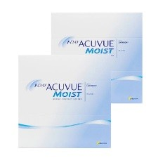 One Day Acuvue Moist 180pck עדשות מגע יומיות