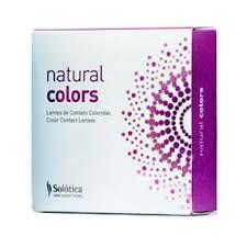 Solotica Natural Colors 2pck עדשות מגע צבעוניות שנתיות