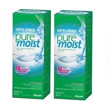 זוג תמיסות Opti-Free PureMoist