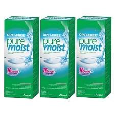 Opti-Free PureMoist שלישייה