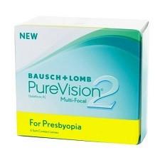 Purevision 2 Multifocal עדשות מגע חודשיות מולטיפוקל