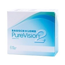 Purevision 2 6pck עדשות מגע חודשיות