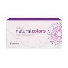 Solotica Solflex Natural Colors 2pck עדשות מגע צבעוניות חודשיות